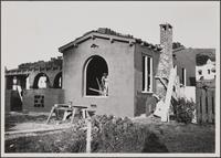 House construction, north side of Verdugo Road
