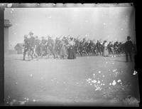 Spanish-American War, California and Oregon volunteer infantries departing to Manila