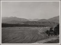 Devil's Gate Reservoir from the southeast, Pasadena