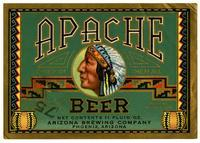 Apache beer, Arizona Brewing Company, Phoenix, Arizona