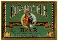 Apache beer, Arizona Brewing Company, Phoenix, Arizona