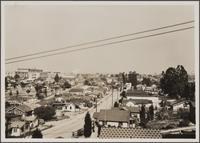 Typical view from Orme Avenue and Oregon Street toward north, Boyle Heights