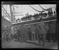 Troops aboard S.S. Arizona, San Francisco Bay