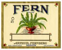 Fern Brand, Arthur Fernberg, producer, San Francisco