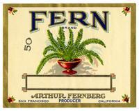Fern Brand, Arthur Fernberg, producer, San Francisco