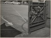 Gate at Pacific-Union Club, 1000 California Street, Nob Hill, San Francisco