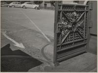 Gate at Pacific-Union Club, 1000 California Street, Nob Hill, San Francisco