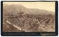 Orange Grove From Sierra Madra Villa