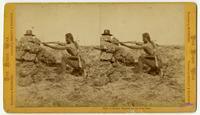 Modoc Warrior on the War Path