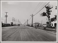 Looking north on Figueroa Street from 92nd Street
