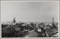 Looking north from Washington and West View Street toward Miracle Mile and Hollywood