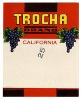 Trocha Brand, California