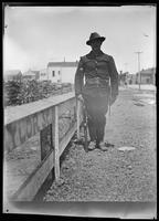 Troop near Camp Merritt, San Francisco