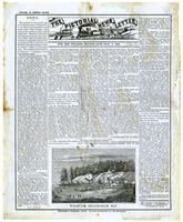 Pictorial News Letter of California. For the Steamer Golden Gate, July 5, 1858. No. 8.