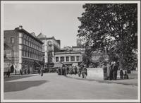 Southwest corner of Plaza
