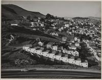 Clipper Street?, Douglass Playground looking toward Twin Peaks, San Francisco