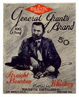 General Grant's Brand straight bourbon whiskey, Majestic Distilling Co., Los Angeles