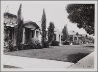 3rd Avenue, looking northwest from north of Santa Barbara Avenue