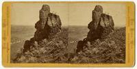 Schonschis Rock; Lava Beds in the distance