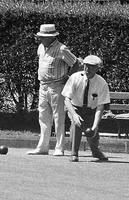 Lawn bowling in Golden Gate Park
