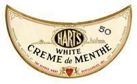 Hart's white creme de menthe, The Alfred Hart Distilleries, Los Angeles