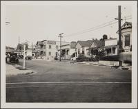 North Bunkerhill Street from Boston, looking north at rooming houses where Mexicans live