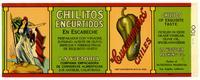 Cuaresmeños Brand chiles, La Victoria Packing Co., Los Angeles