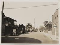 Looking north on Garey Street from Turner Street; Japanese neighborhood