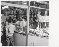 Fresh cooked crabs, butcher shop, Fisherman's Wharf, San Francisco