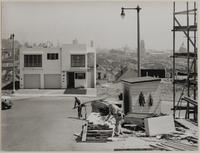 Construction of houses, Baker Street and Anzavista Avenue, San Francisco