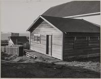 Crown Hall and bay, Mendocino, Mendocino County, California