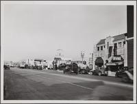 La Brea Avenue north from Wilshire