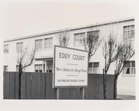 Eddy Court, public housing on Eddy Street, San Francisco