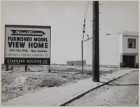 Billboard, Sunstream Homes, 12th Avenue, San Francisco
