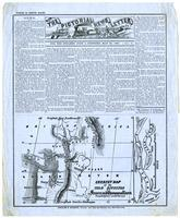 Pictorial News Letter of California. For the Steamer John L. Stephens, May 20, 1858 No. 5.