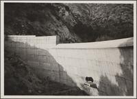 Sunset Debris Dam near Burbank