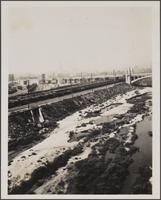 View from 6th Street Bridge toward city hall