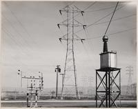 Pacific Gas and Electric, Newark substation, incoming line and telephone, Alameda County, California