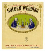 Golden Wedding Brand, Golden Wedding Products Co., San Francisco and Los Angeles