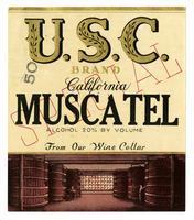 U.S.C. Brand California Muscatel
