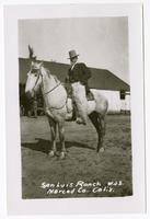 San Luis Ranch. W.J.S. Merced Co. California