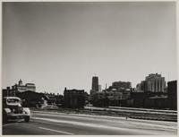 The Embarcadero, at approximately Filbert Street, San Francisco