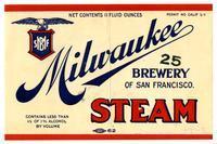 Steam, Milwaukee Brewery of San Francisco