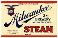 Steam, Milwaukee Brewery of San Francisco