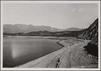 Reservoir near San Fernando, L.A. city water