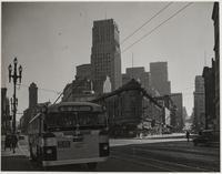 Market Street to left, Pine Street?, San Francisco