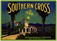 Southern Cross brand lemons, San Fernando Heights Lemon Assn.