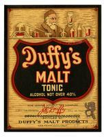 Duffy's malt tonic, Duffy's Malt Products, San Francisco