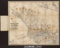 Map of Oakland and Alameda