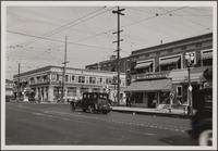 Looking northeast on Western Avenue toward Santa Monica Boulevard